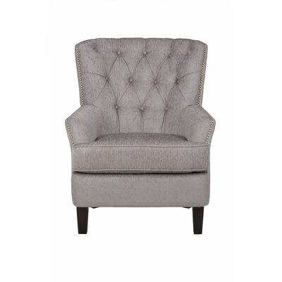 McCain Arm Chair Upholstery: Silver