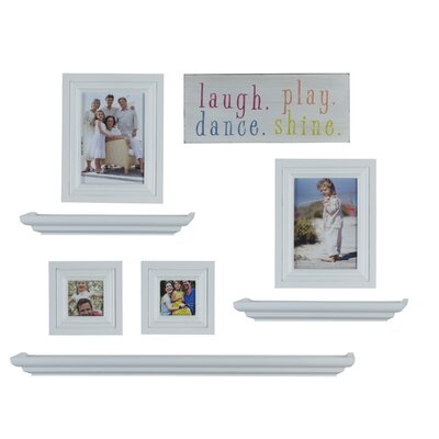 8 Piece Shelf and Frame Set