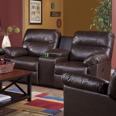 Serta Upholstery Corwin DBL Reclining Sofa Upholstery: Troy Beaver