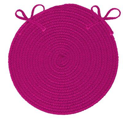 Fraley Chair Cushion Fabric: Magenta
