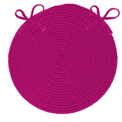 Fraley Chair Cushion Fabric: Magenta