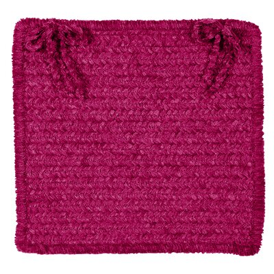 Redfield Chair Cushion Fabric: Magenta