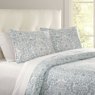 3-Piece Valencia Cotton Duvet Cover Set