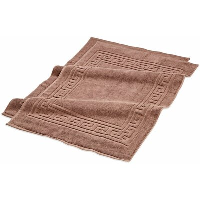 Superior Bath Rug Set Color: Mocha