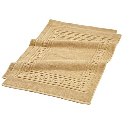 Superior Bath Rug Set Color: Toast