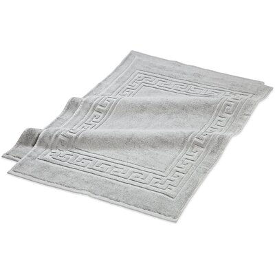 Superior Bath Rug Set Color: Silver