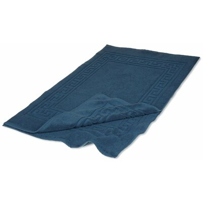 Chesterhill 900 GSM Premium Long-Staple Combed Cotton Bath Mat Color: Sapphire