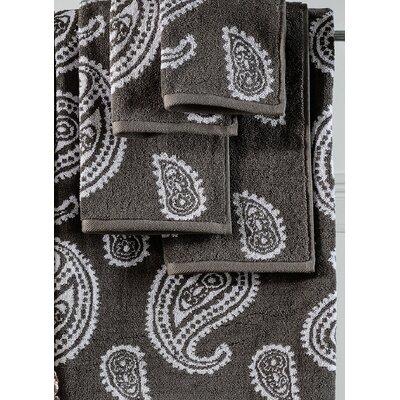 6 Piece Soft Towel Set Color: Charcoal