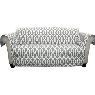 Caledonia Sofa Slipcover Upholstery: Gray