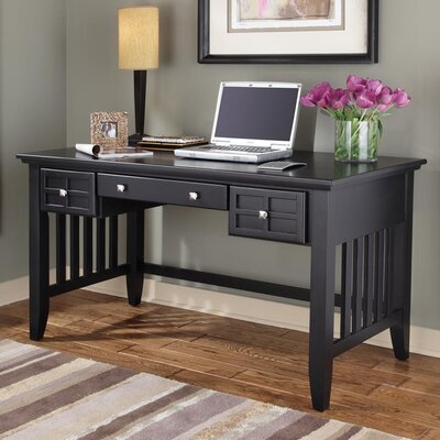 Lakeview Writing Desk Finish: Black
