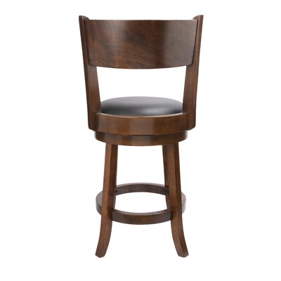 Shiloh 24 Swivel Bar Stool with Cushion