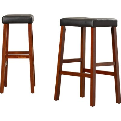 Newark 29 Bar Stools Finish: Classic Cherry