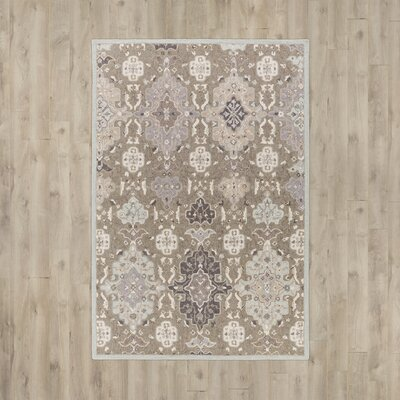 Pottershill Gray & Slate Area Rug Rug Size: 2 x 3