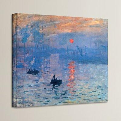 Sunrise by Monet Canvas Print