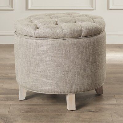 Castell Storage Ottoman Color: Stone