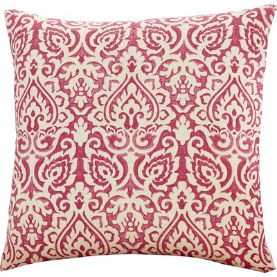 Godines 100% Cotton Throw Pillow Color: Pink
