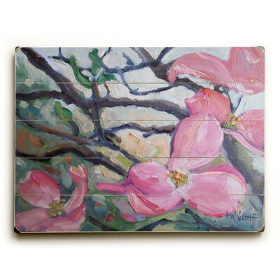 Spring Dogwood Blossoms Wall Art Size: 12