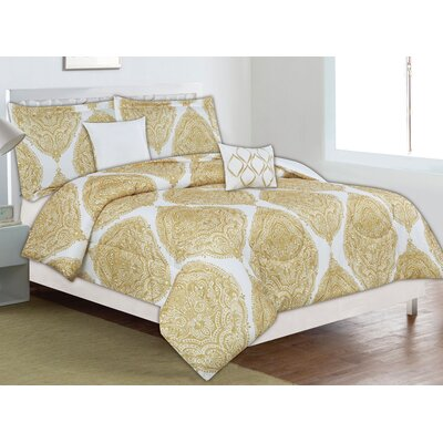 Clarksville 5 Piece Comforter Set Size: King/California King