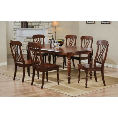Corell Park Dining Table Table Finish: Derby Brown