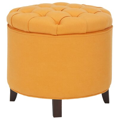 Castell Storage Ottoman Color: Tangerine