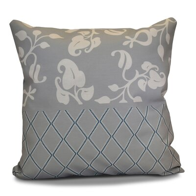 Decorative Holiday Throw Pillow Size: 16 H x 16 W, Color: Gray