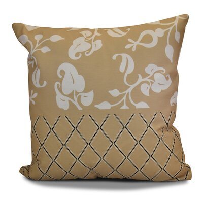 Decorative Holiday Throw Pillow Size: 18 H x 18 W, Color: Taupe