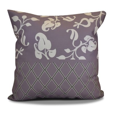 Decorative Holiday Throw Pillow Size: 16 H x 16 W, Color: Lavender