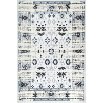 Riegel Gearldine Cream Area Rug Rug Size: Rectangle 92 x 12