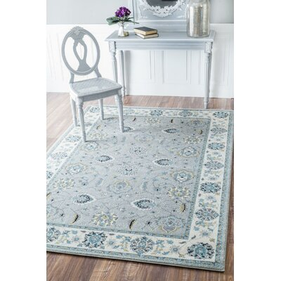 Elgin Silver Area Rug Rug Size: Rectangle 4 x 6