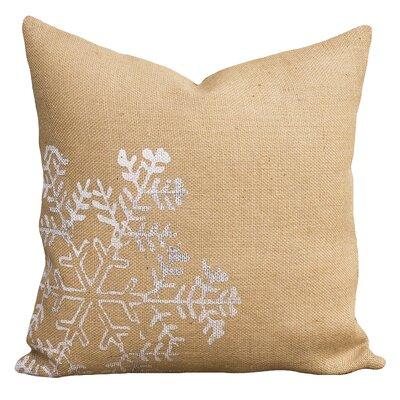 Alcott Hill Mifflin Burlap Throw Pillow