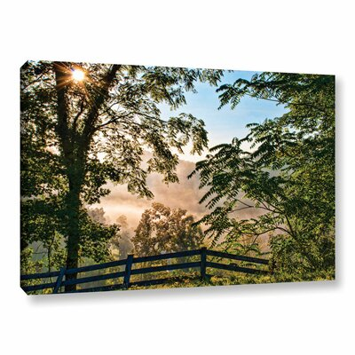 Out The Backdoor Photographic Print on Wrapped Canvas