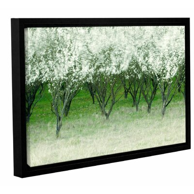 Spring Wind Painting Print on Wrapped Canvas