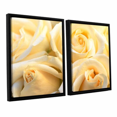 Crème Fraiche 2 Piece Framed Photographic Print Set