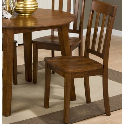 Antrim Side Chair (Set of 2) Finish: Caramel