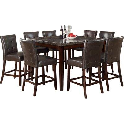 Cincinnati Counter Height Dining Table Finish: Black