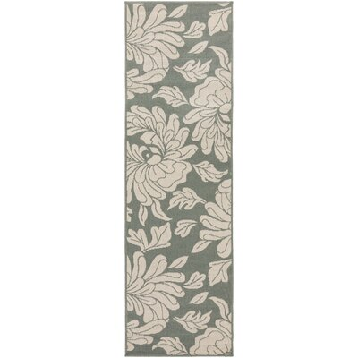 Gilead Beige Indoor/Outdoor Area Rug Rug Size: Runner 2'3 x 7'9