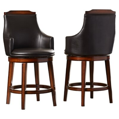 Allenville 24 Swivel Bar Stool (Set of 2)