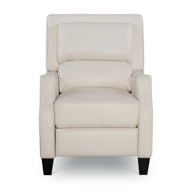 Bansom Manual Glider Recliner Upholstery: Harmony Ivory