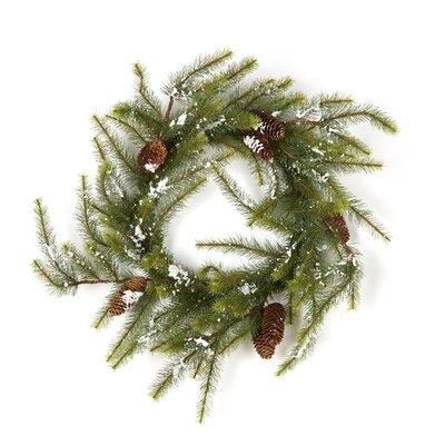 Alcott Hill Pine Snow 12'' Wreath (Set of 2)