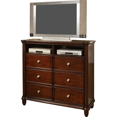 Bancroft Woods 6 Drawer Media Chest