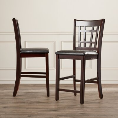 Norwalk 24 Bar Stool Finish: Espresso