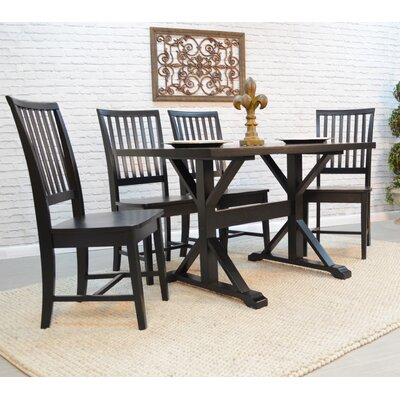 Maelynn Dining Table Finish Antique Black