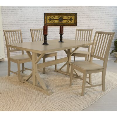 Maelynn Dining Table Finish Weathered Gray