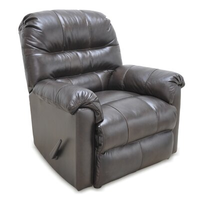 Tennant Leather Manual Rocker Recliner