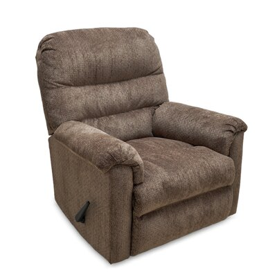 Tennant Manual Rocker Recliner Color: Chocolate