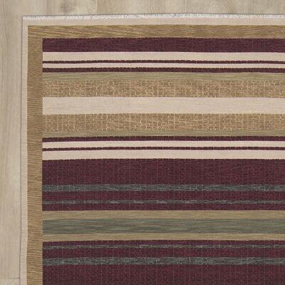 Cadsden Hand-Woven Beige/Brown Area Rug
