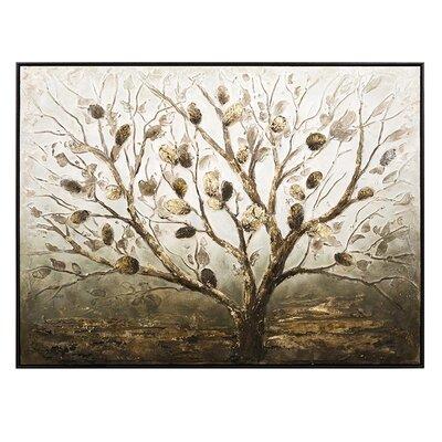 Tree Framed Painting Print