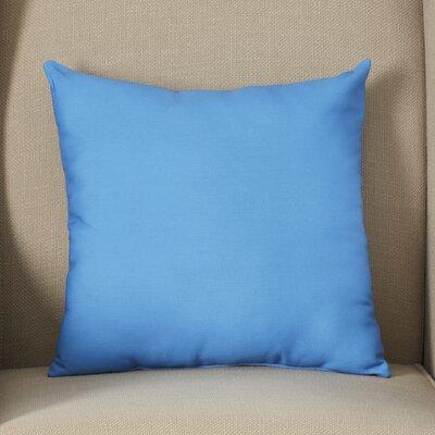 Georgia Outdoor Throw Pillow Color: Cerulean Blue, Size: 16