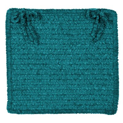 Redfield Chair Cushion Fabric: Teal