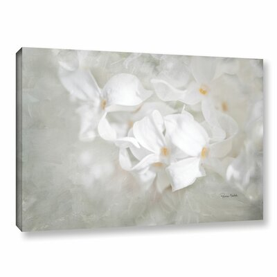 White Lilac I Painting Print on Gallery Wrapped Canvas